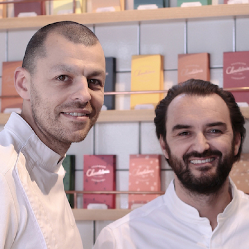 Cyril Lignac & Benoît Couvrand