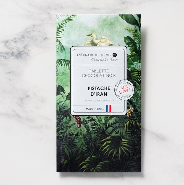 Tablette Chocolat Noir & Pistache d'Iran