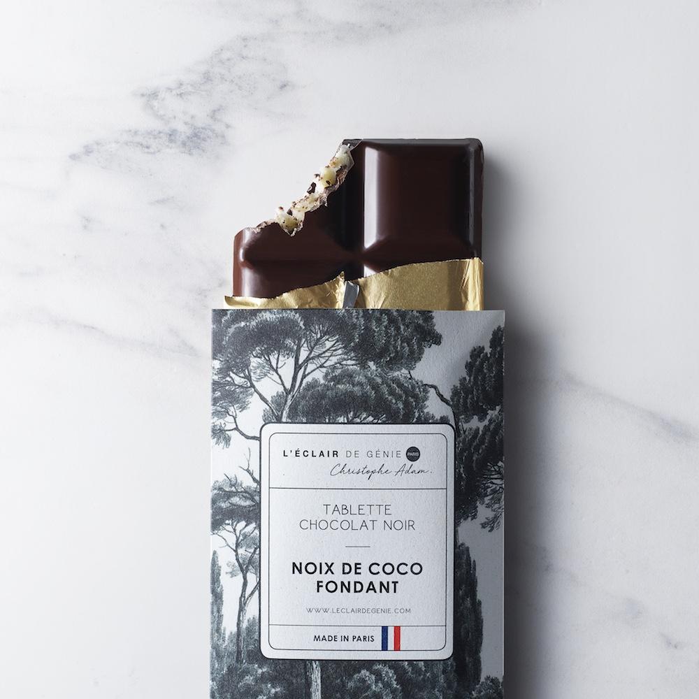 Tablette Chocolat Noir & Praliné Noix de Coco