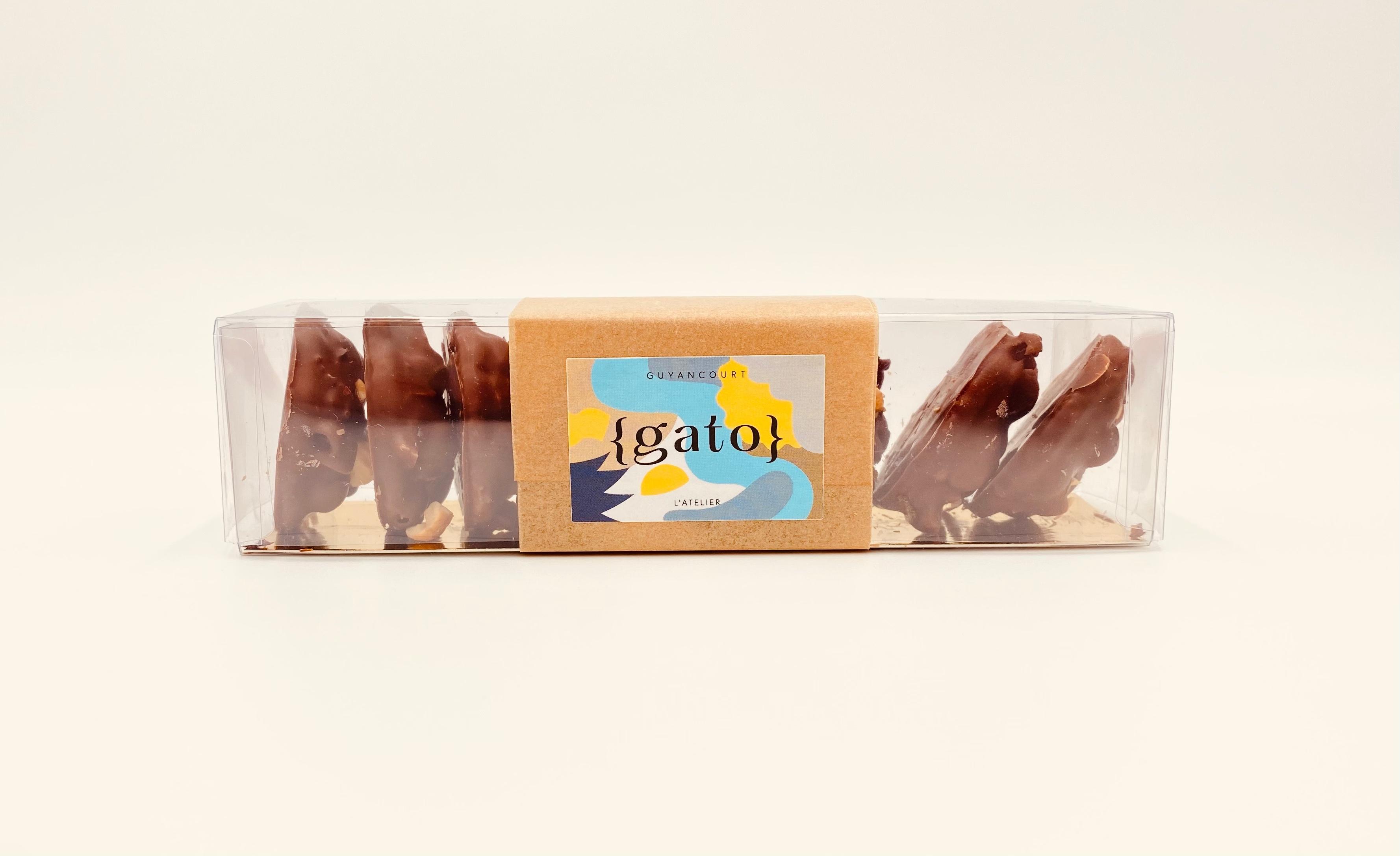 P'tits biscuits noisette gianduja chocolat au lait