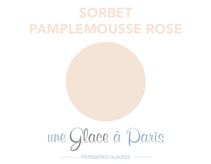 Petit pot de sorbet au pamplemousse (120ml)