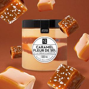 Glace Caramel 600 Ml Fou De Patisserie